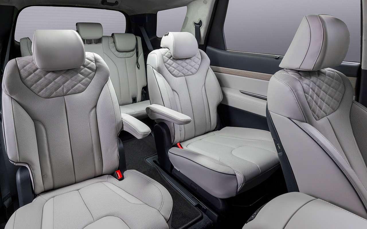 Hyundai Palisade: рассаживаем семерых— фото 1234036