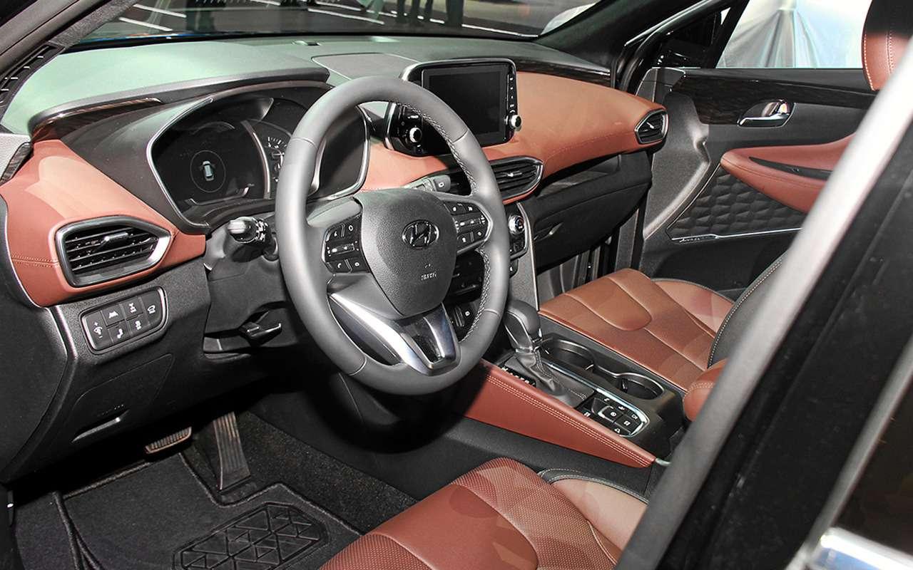 Появилась новая комплектация Hyundai Santa Fe— Black&Brown— фото 900669