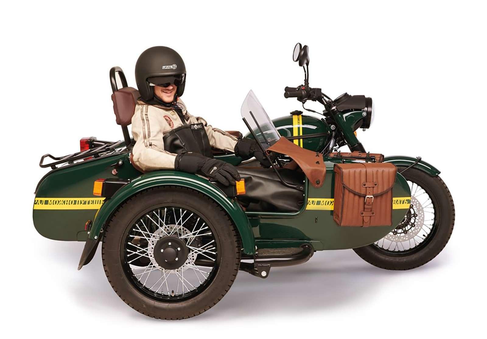 Новая версия мотоцикла Урал: теперь сканистрой водки— фото 911061