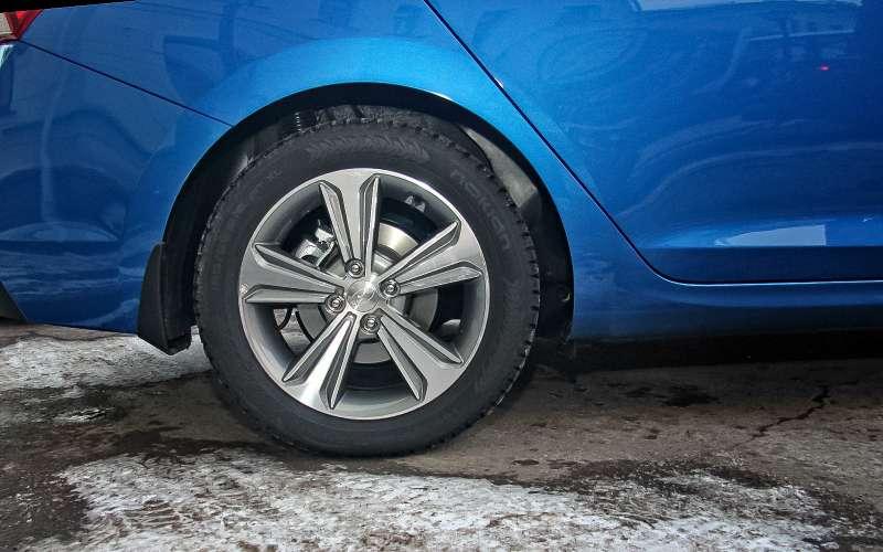 Колесо Hyundai Solaris 2017