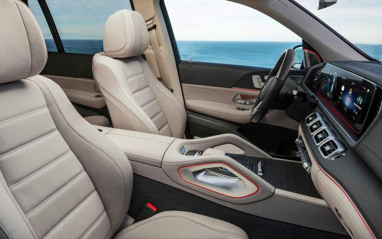 Новый Mercedes-Benz GLS: салон на7, двигатель на8— фото 967451
