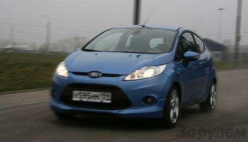 Тест Ford Fiesta Sport: Кинетический антидепрессант (ВИДЕО)— фото 5937