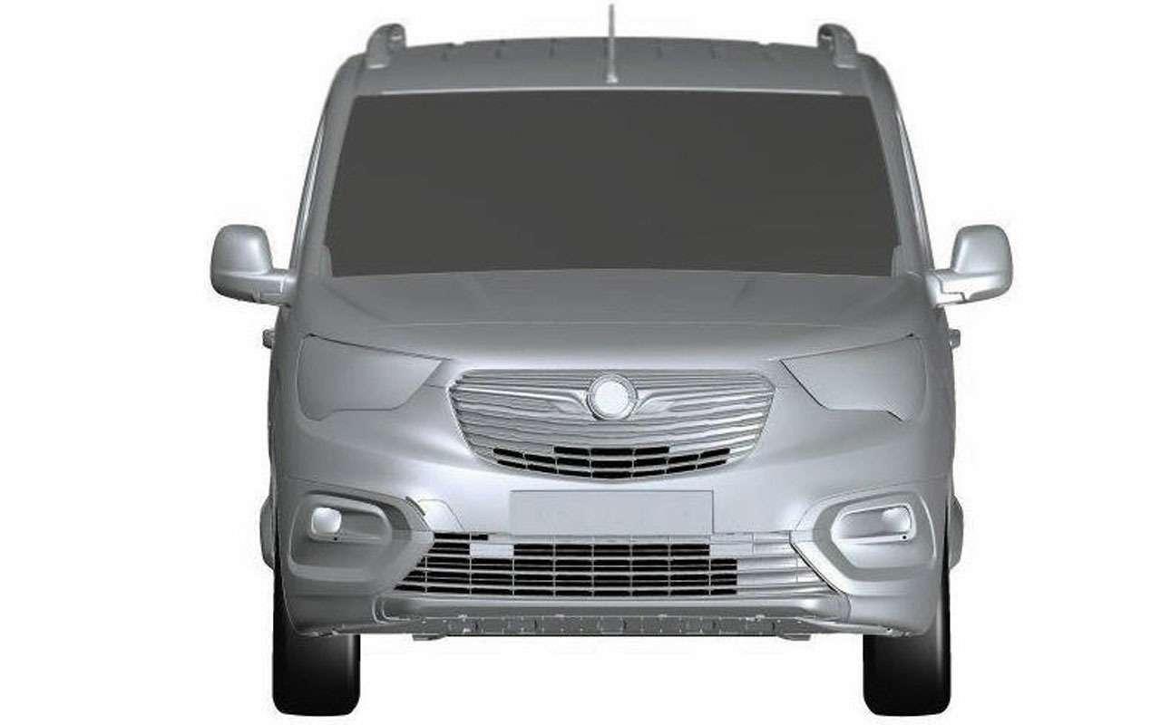 Четвертая модель Opel дляРоссии— первые фото