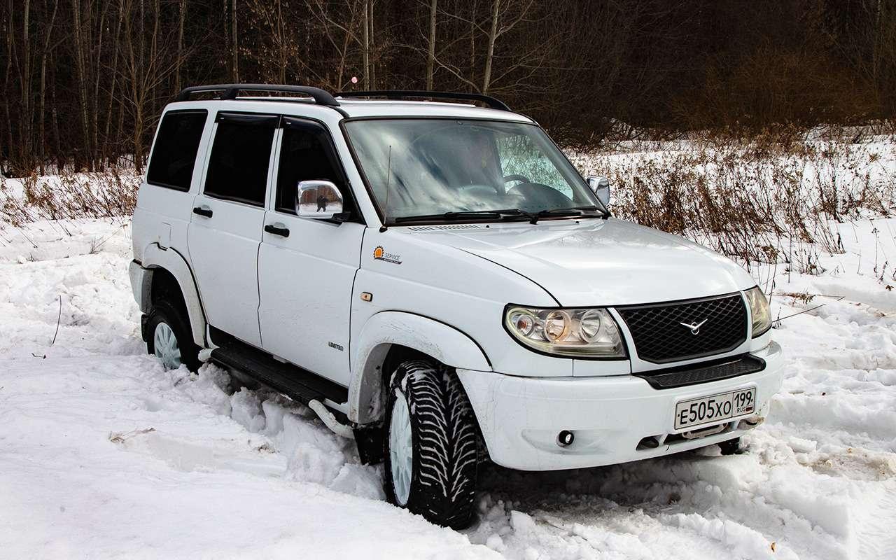 УАЗ Патриот с трансмиссией от Land Cruiser - он такой один!