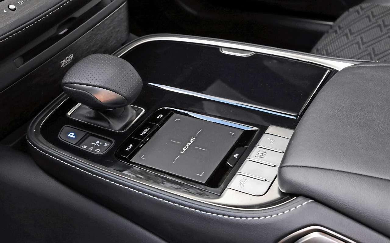Большой тест престижных седанов: новый Lexus LS500и конкуренты— фото 928760