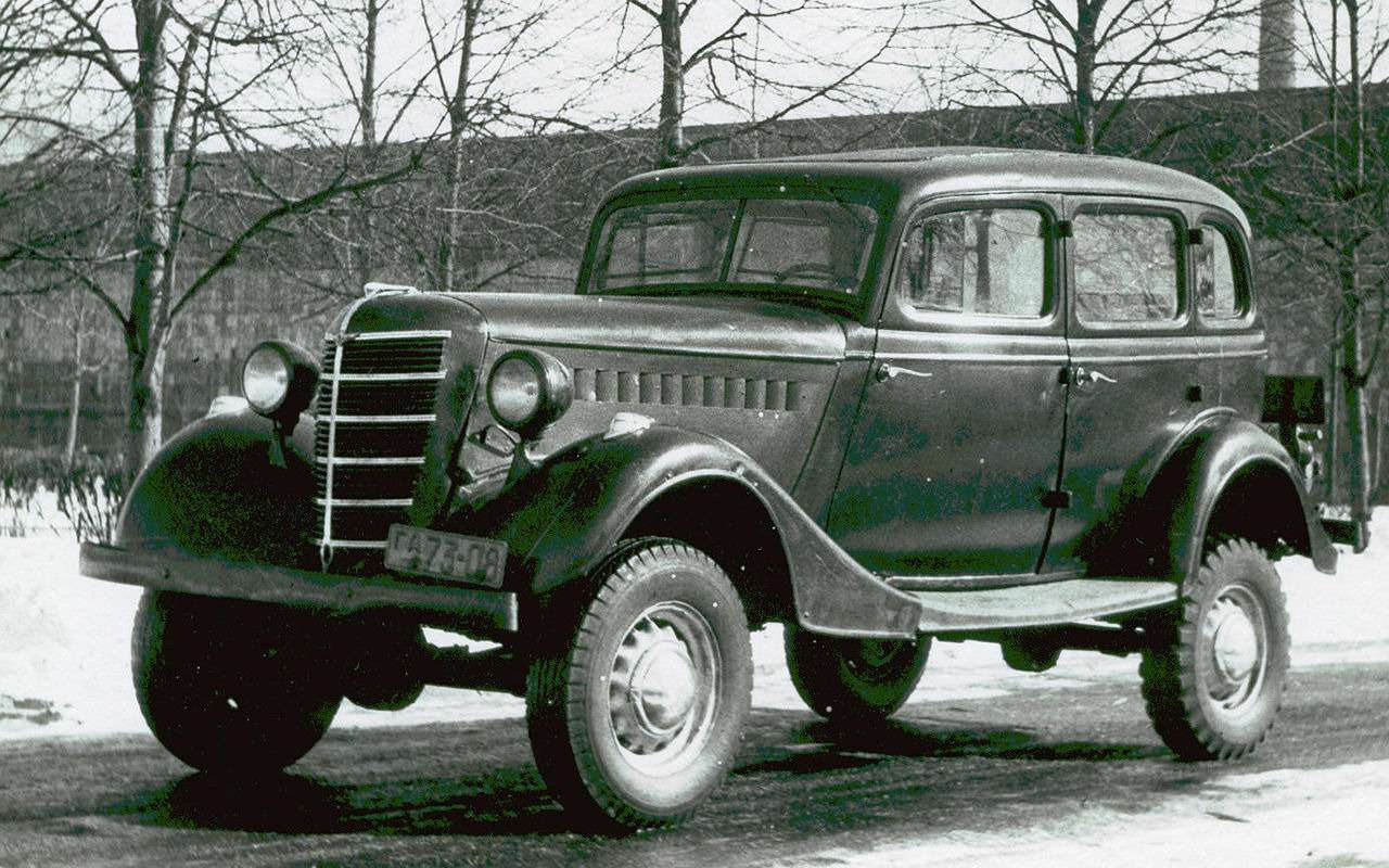 Самые редкие серийные автомобили СССР— фото 868841