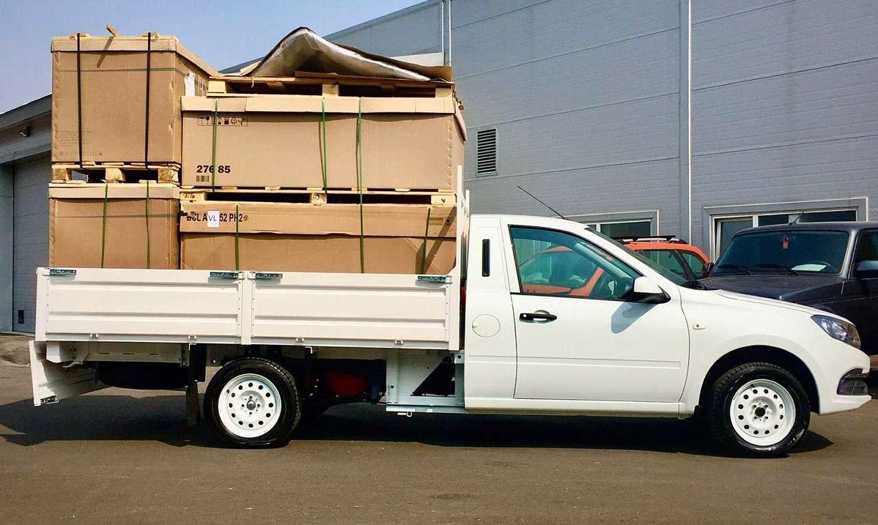 Гранта станет грузовиком грузоподъемностью втонну— фото 1270789