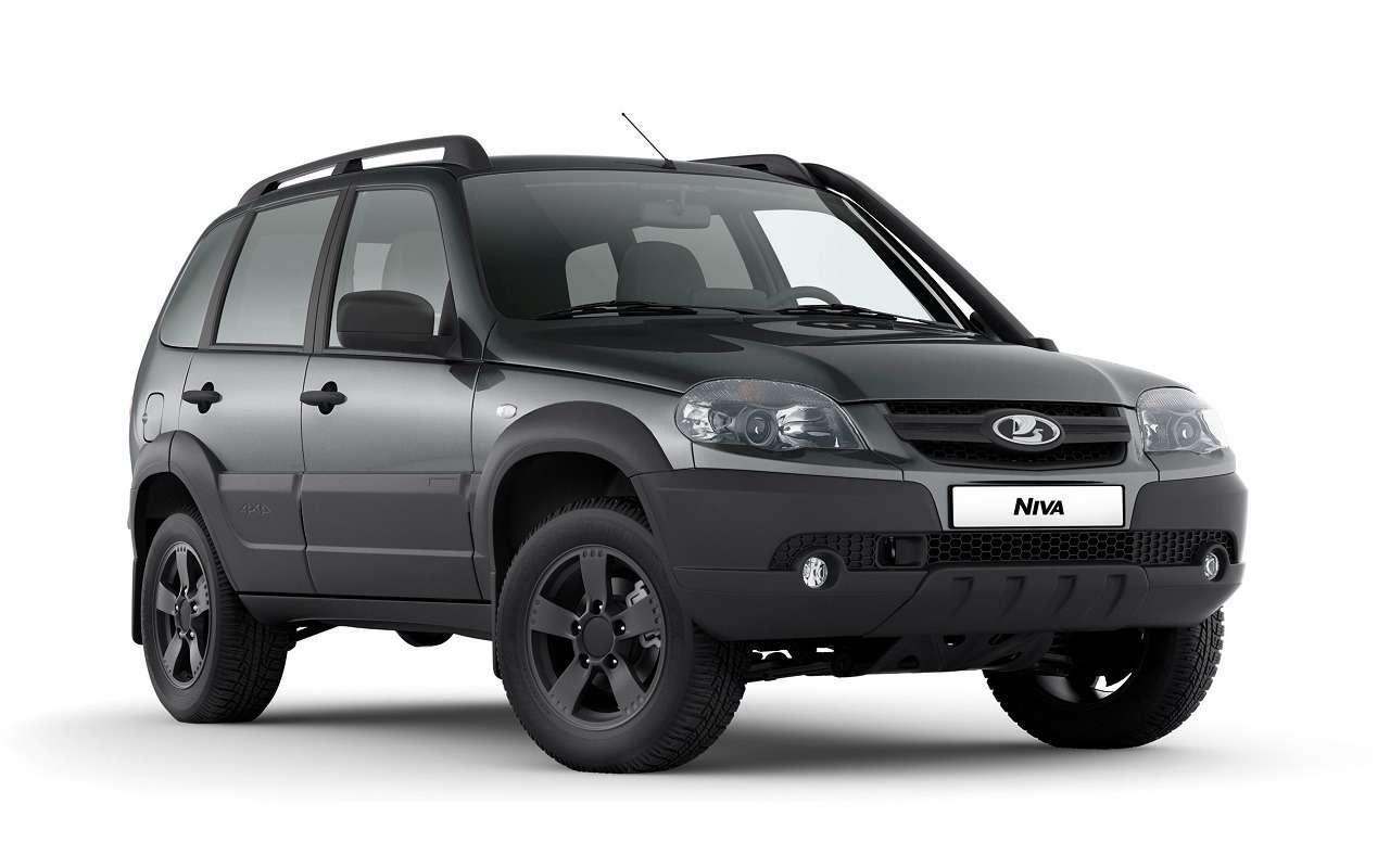 Lada Niva официально: как выглядит, какие приборы исколько стоит— фото 1144305