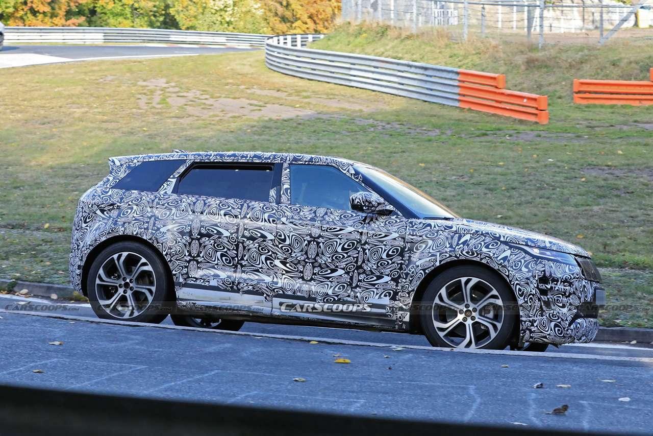 Удлиненный Range Rover Evoque: скоростные тесты— фото 1196324