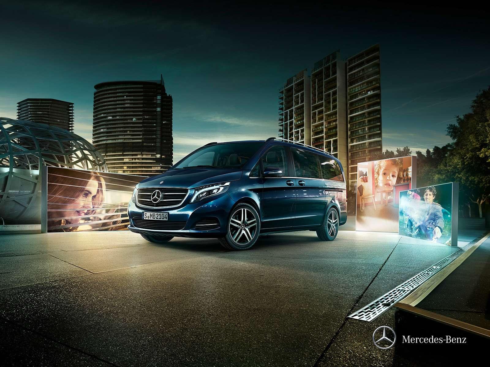 Mercedes-Benz привез вРоссию базовый V200за 2,14млн рублей— фото 360745