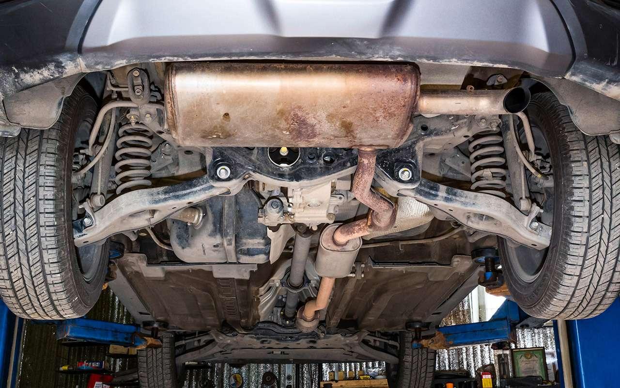 Hyundai Creta или Renault Koleos: чей полный привод круче? Часть 1— фото 825633