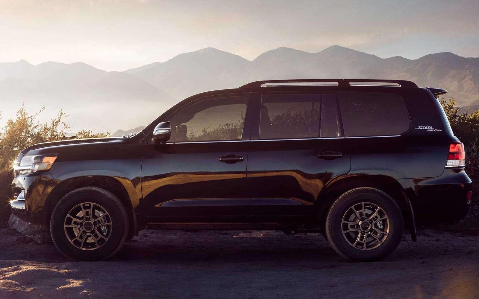 Toyota Land Cruiser получит новую эксклюзивную версию— фото 942920