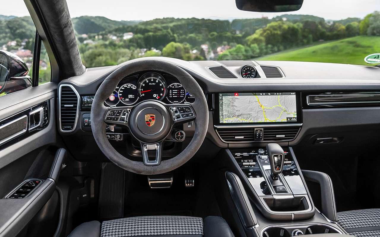 Самый дорогой Porsche Cayenne— тест-драйв «Зарулем»— фото 985037