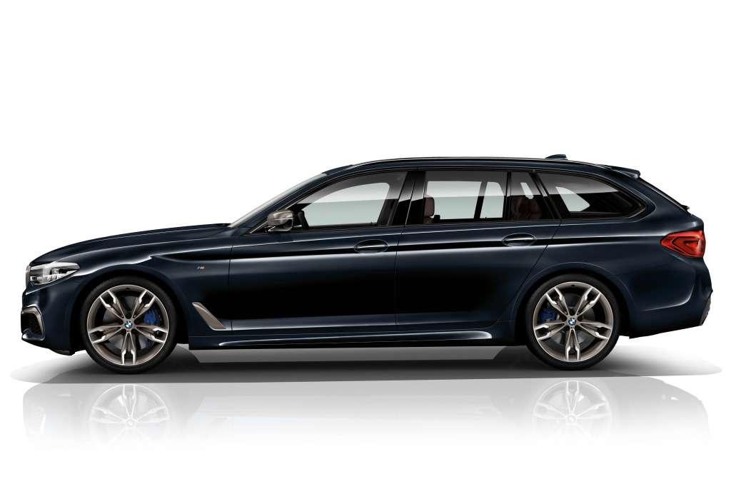 Впервые: BMW представила «пятерку» счетырьмя турбонагнетателями— фото 742706