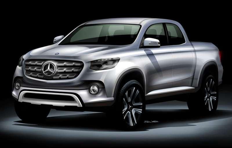 Mercedes-Benz выпустит среднеразмерный пикап