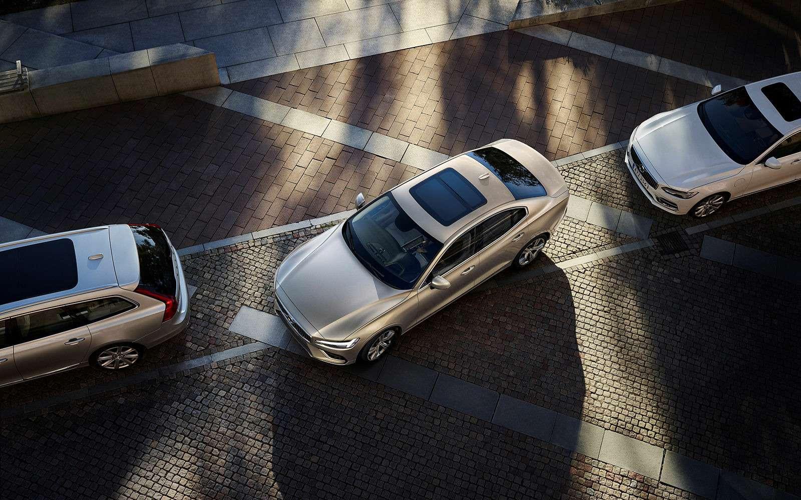 Новый Volvo S60: динамичный ироскошный. Ждем вРоссии!— фото 880603