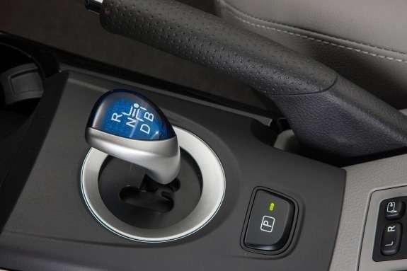 Toyota RAV4EV transmission selector