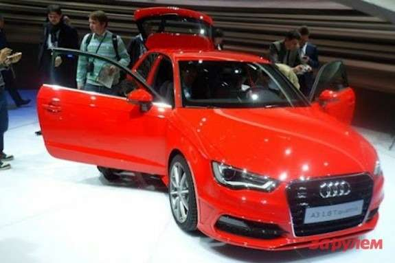 Audi A3 side-front view