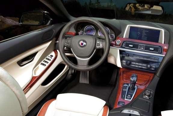 Alpina B6Bi-Turbo Convertible inside