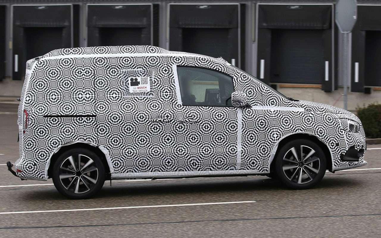 У Mercedes-Benz новая модель— T-класс— фото 1207262