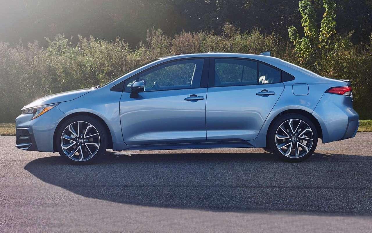 Новая Toyota Corolla: ищем отличия отпредшественницы— фото 924470