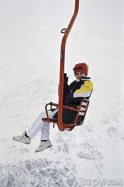 Лыжи накрыше лежат— фото 32342