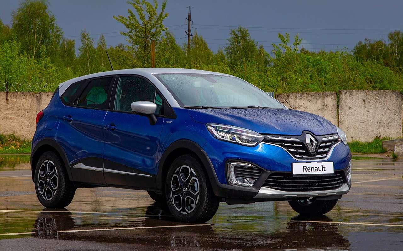 Renault Kaptur 2020: тест-драйв ивсе изменения— фото 1142421