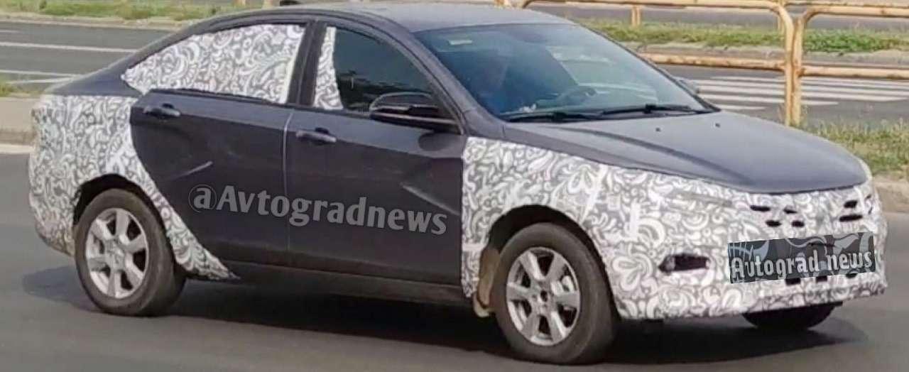 Lada Vesta получит новый цвет кузова— фото 1272099