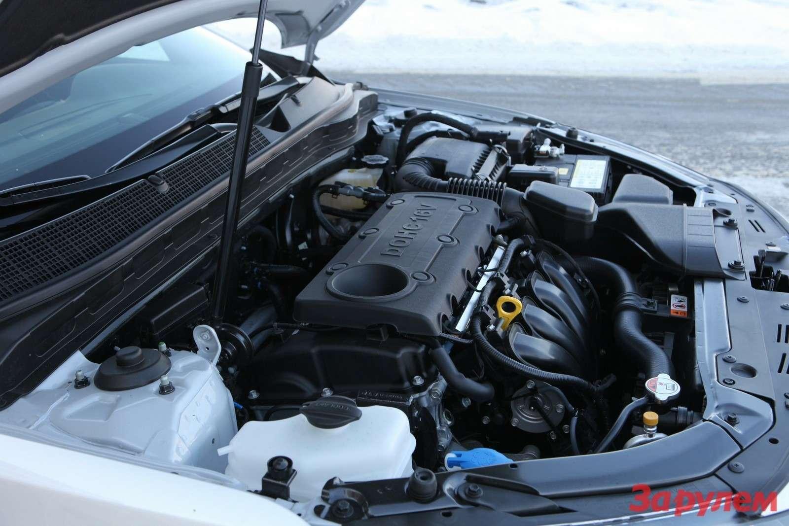 В России предлагают двигатели 2,0л (150 л.с.) и2,4л (180 л.с.)