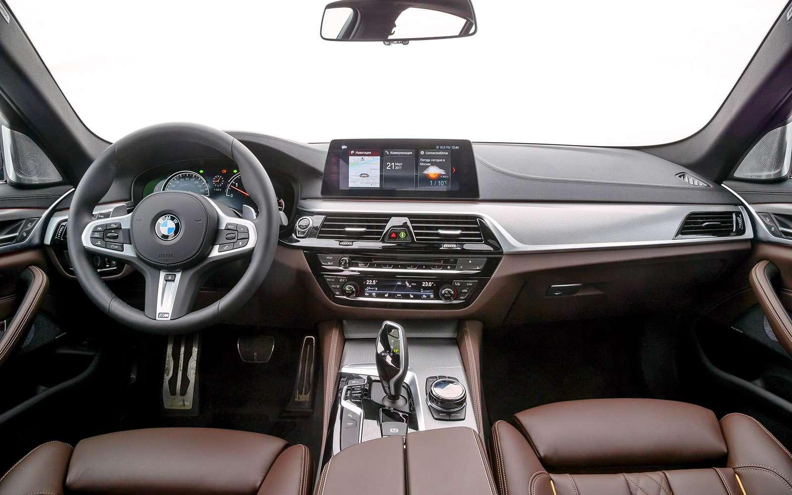 BMW5-й серии против конкурентов: кто напять?— фото 743814