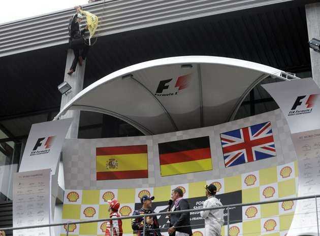 greenpeace podium eurosport no copyright