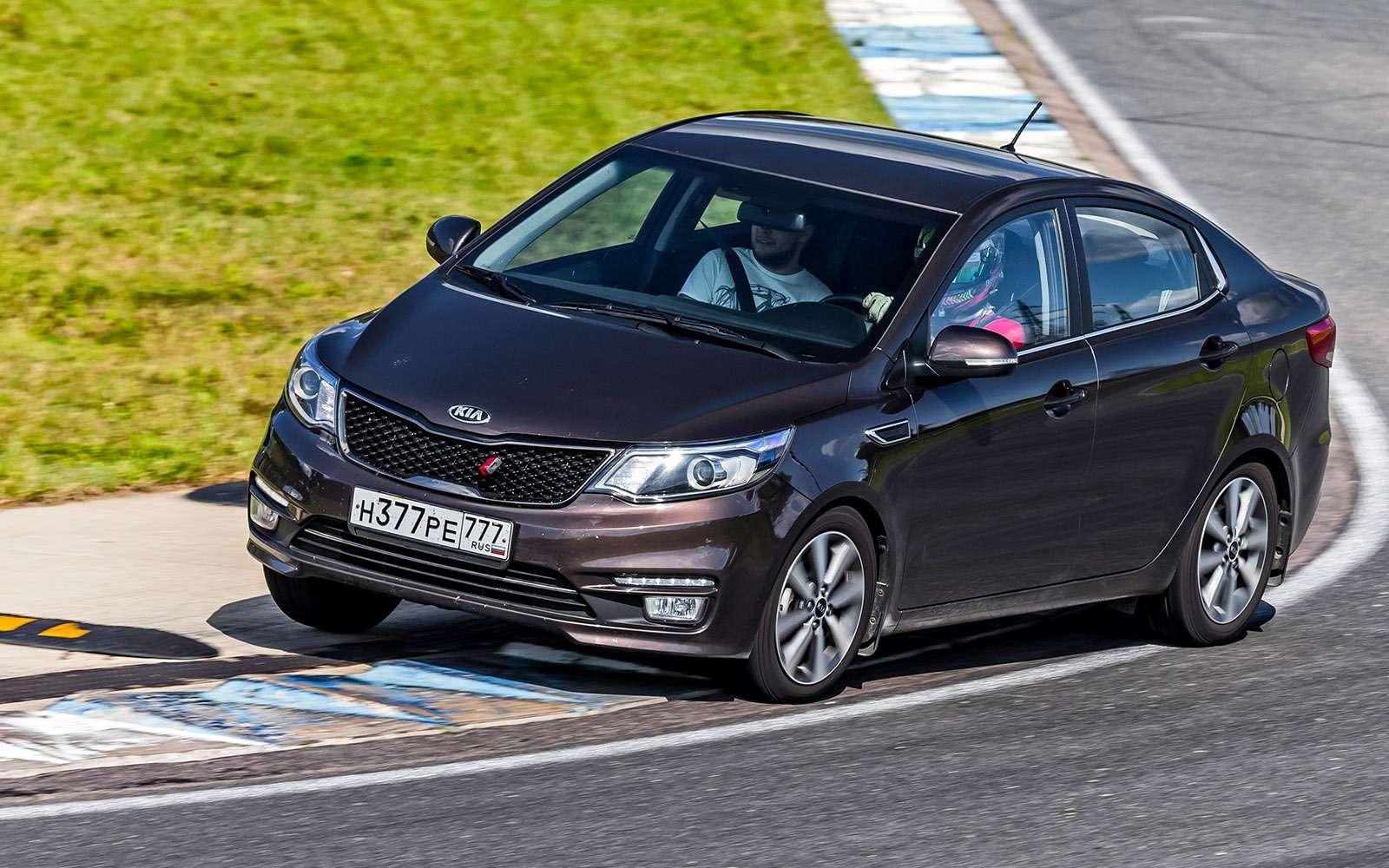 VWPolo GTпротив конкурентов: тест на«Смоленском кольце»— фото 644223