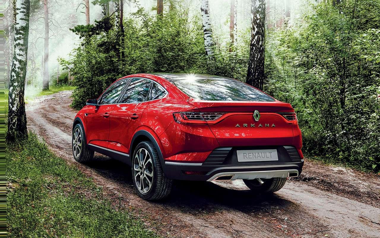 Новый кроссовер Renault Arkana: знакомимся спредсерийным прототипом— фото 899847