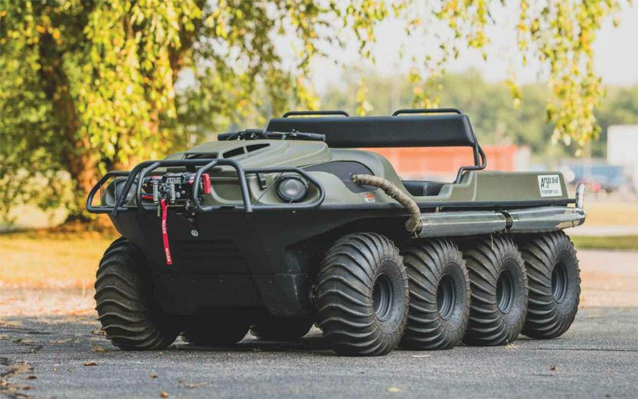Могучий клещ, тот самый Willys, Hummer...— аукцион военных автомобилей— фото 1104425