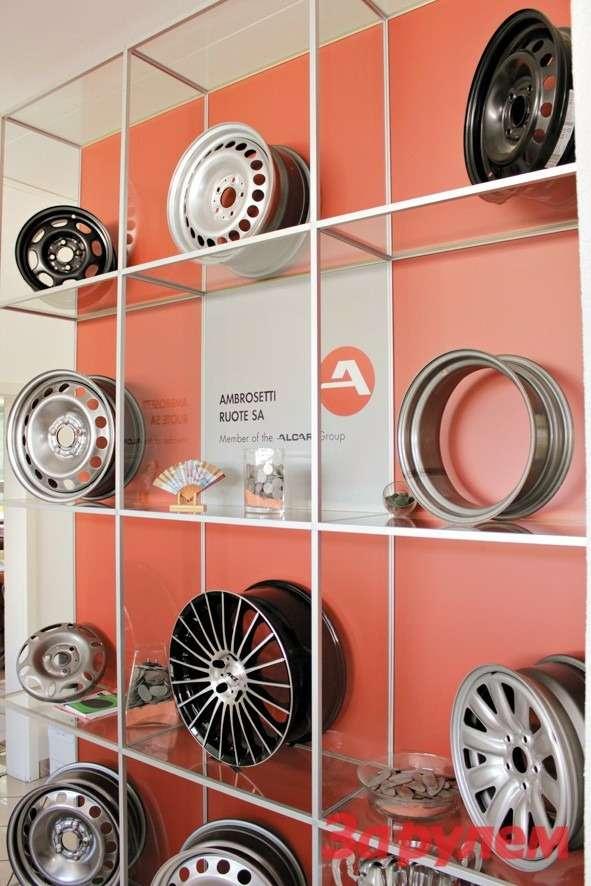 Лугановские колеса