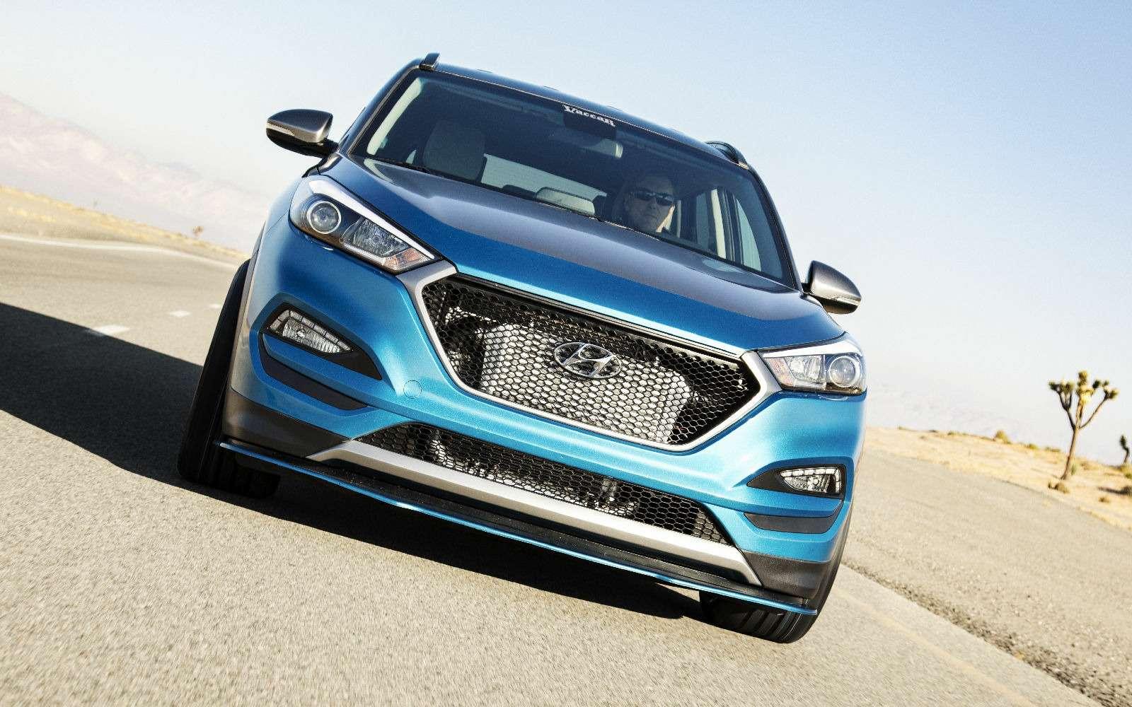 Тюнинг-шоу вЛас-Вегасе— крутые экспонаты Hyundai— фото 812001