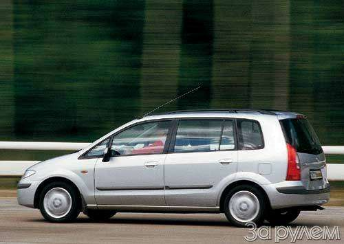 Тест Citroen Xsara Picasso, Mitsubishi Space Star, Mazda Premacy, Renault Scenic. Семейный квартет.— фото 20431