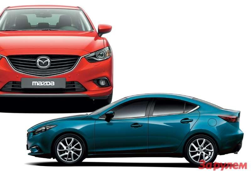 Mazda3и Mazda6
