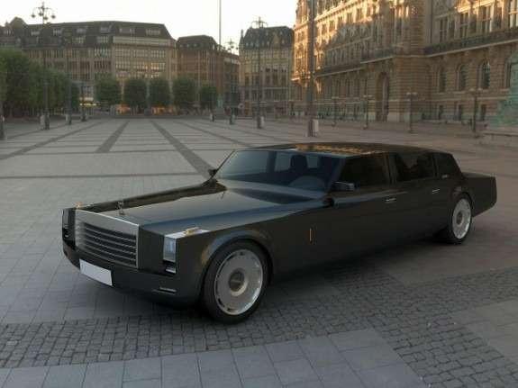 концепт правительственного автомобиля ЗИЛа