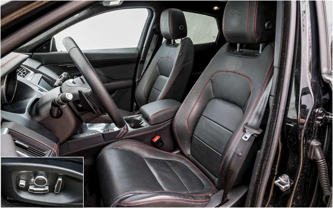 Большой тест маленьких, нодорогих кроссоверов: Volvo, Lexus, Jaguar— фото 983848