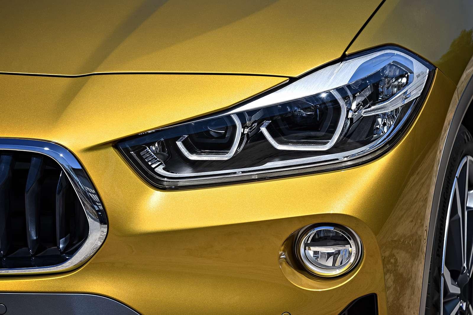 BMWрассекретила российские цены накроссовер X2— фото 809837