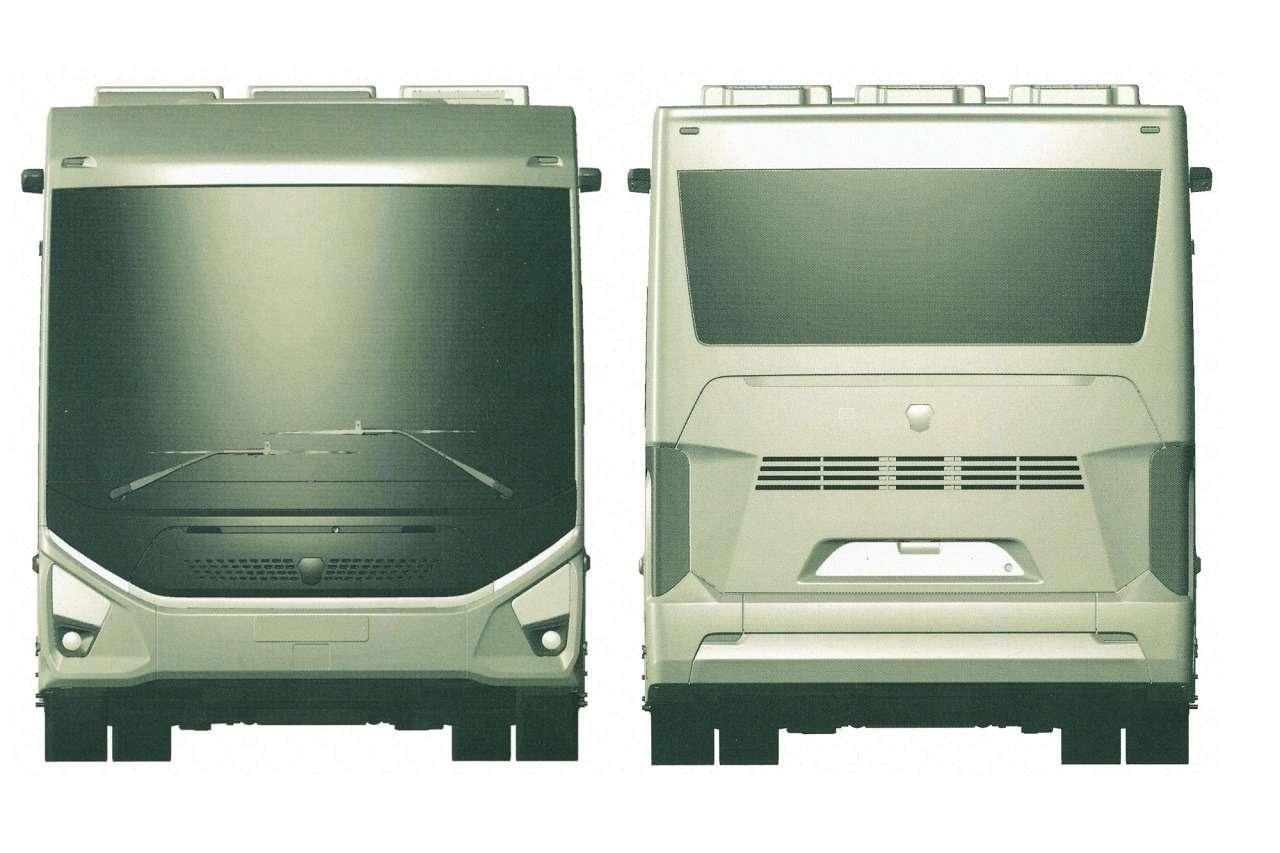 ГАЗзапатентовал городской электробус e-CityMAX-9— фото 1280184
