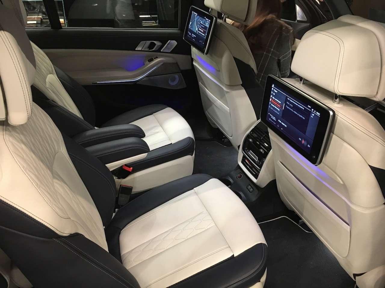 Новейший BMW X7засветился вМоскве— фото 930778