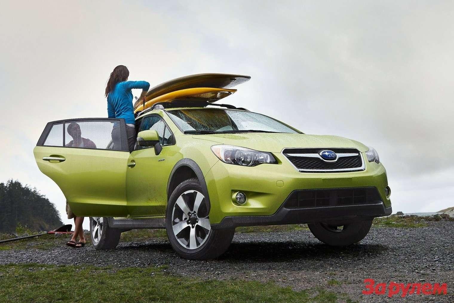Subaru XVCrosstrek Hybrid 2014 1600x1200 wallpaper 02