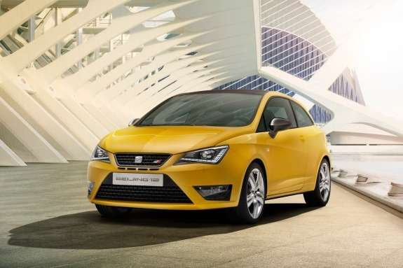 Seat Ibiza Cupra Concept side-front view