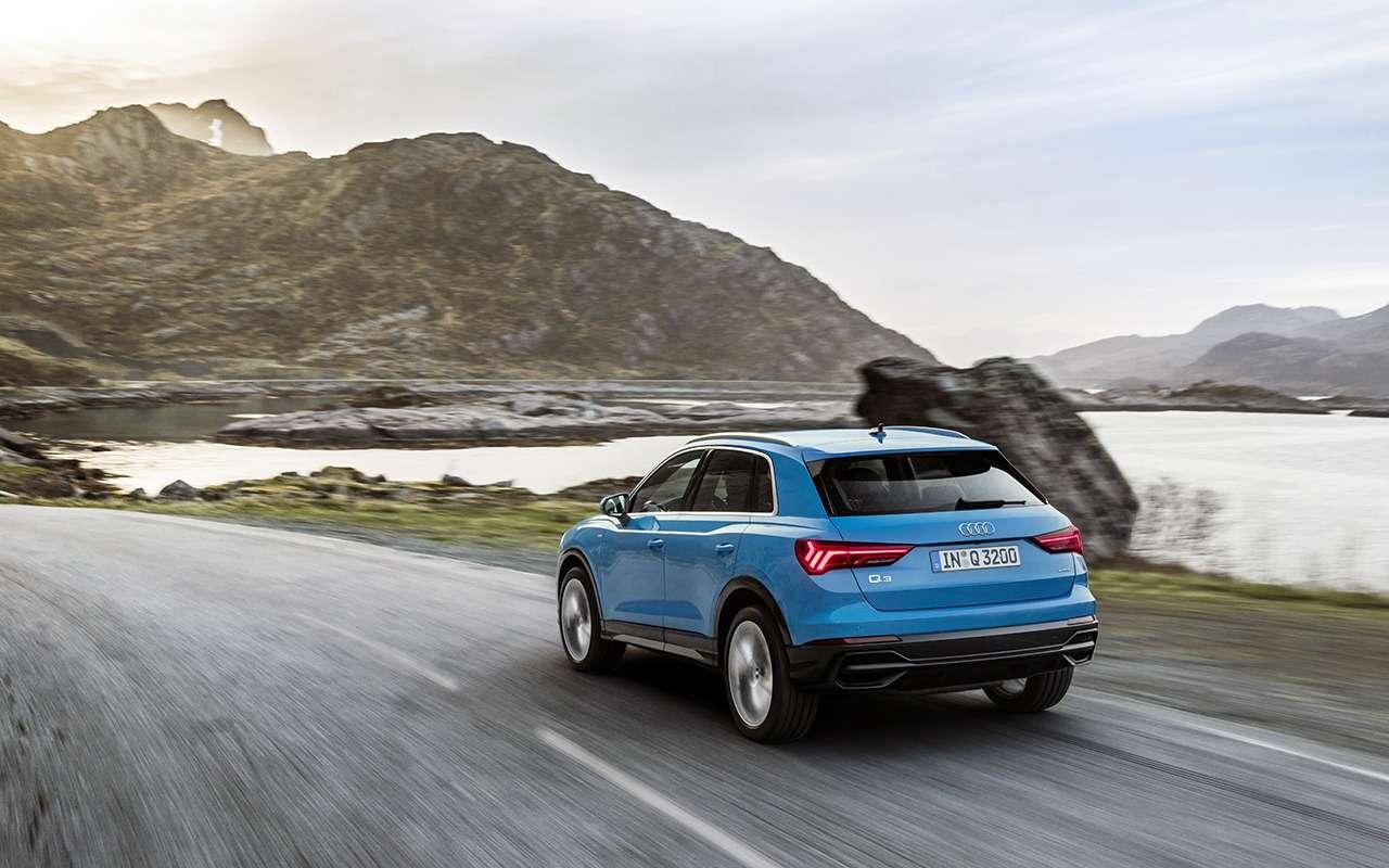 Выстрел из«кушки»: тест нового Audi Q3, которого вРоссии не будет— фото 907825