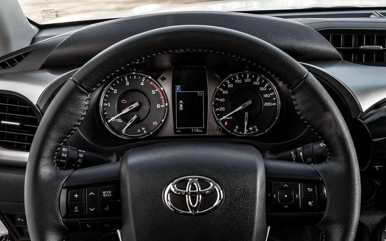 Обновленные Toyota Fortuner и Hilux: открыт прием заказов - фото 1154171
