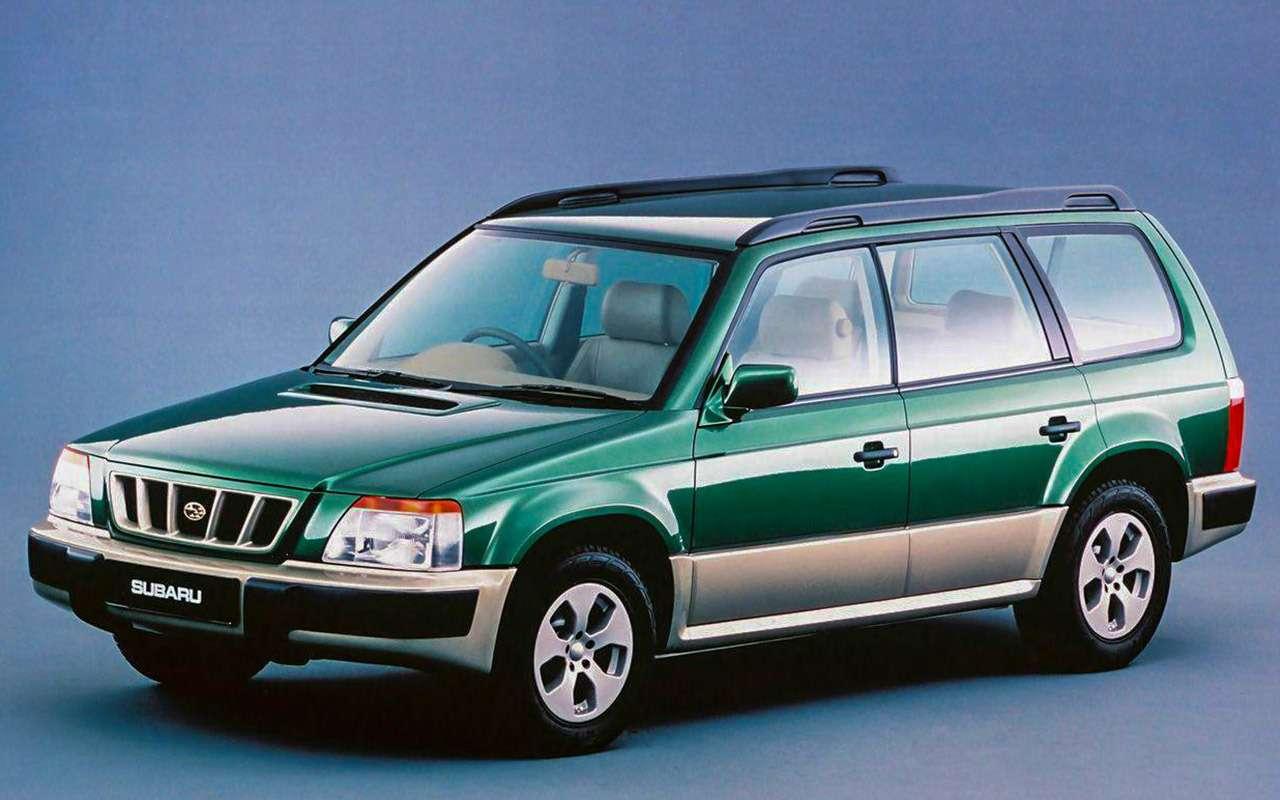 Новый Subaru Forester против конкурентов: большой тест кроссоверов— фото 935696