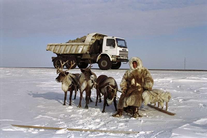 Грузовик Scania P113HK 6х6на испытаниях вСибири, 1994 год.