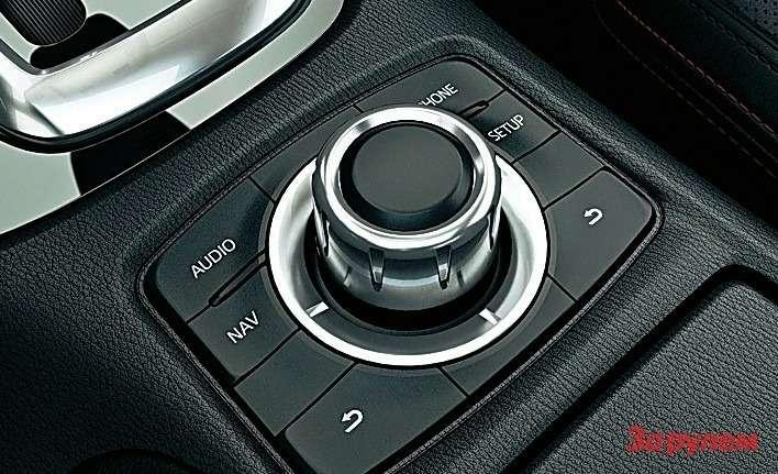 Контроллер натуннеле— давно неоткрытие вавтомобильной электронике. Маздовский вариант прост иприятен вуправлении.